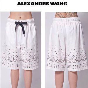 Alexander Wang Oversized Low Waisted Board Shorts